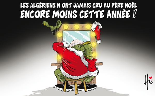 Les algériens n'ont jamais cru au père Noël : Encore moins cette année - Gaïd Salah - Gagdz.com