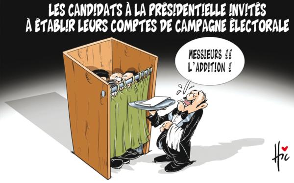 Les candidats à la présidentielle invités à établir leurs comptes de campagne électorale - élections - Gagdz.com