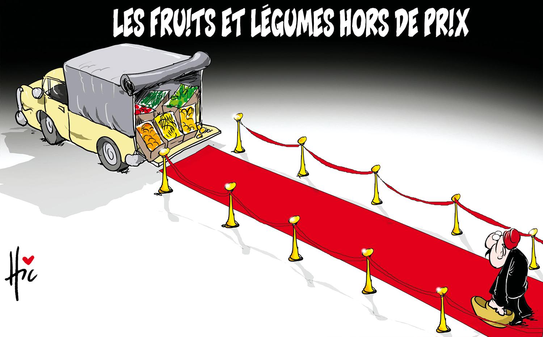 Les fruits et légumes hors de prix en Algérie - prix - Gagdz.com