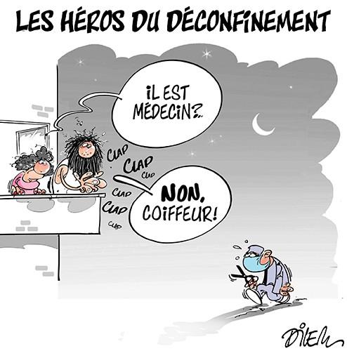 Les héros du déconfinement - déconfinement - Gagdz.com