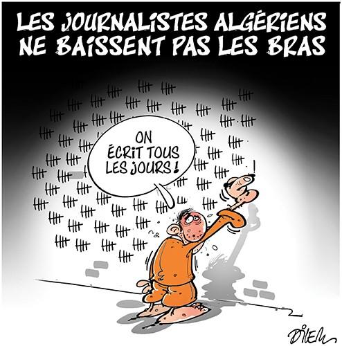 Les journalistes algériens ne baissent pas les bras - prison - Gagdz.com
