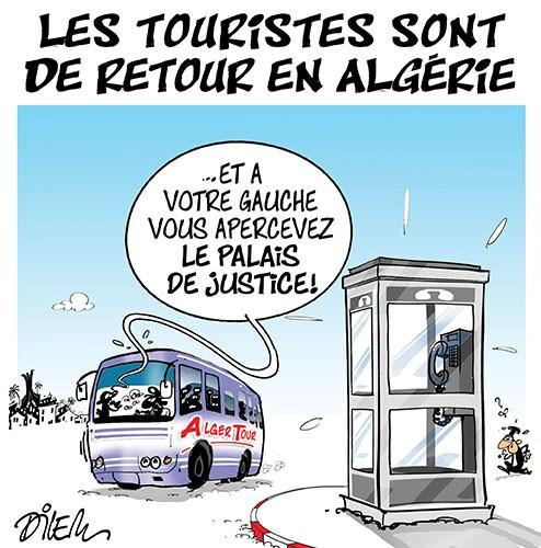 Les touristes sont de retour en Algérie - Dilem - Liberté - Gagdz.com