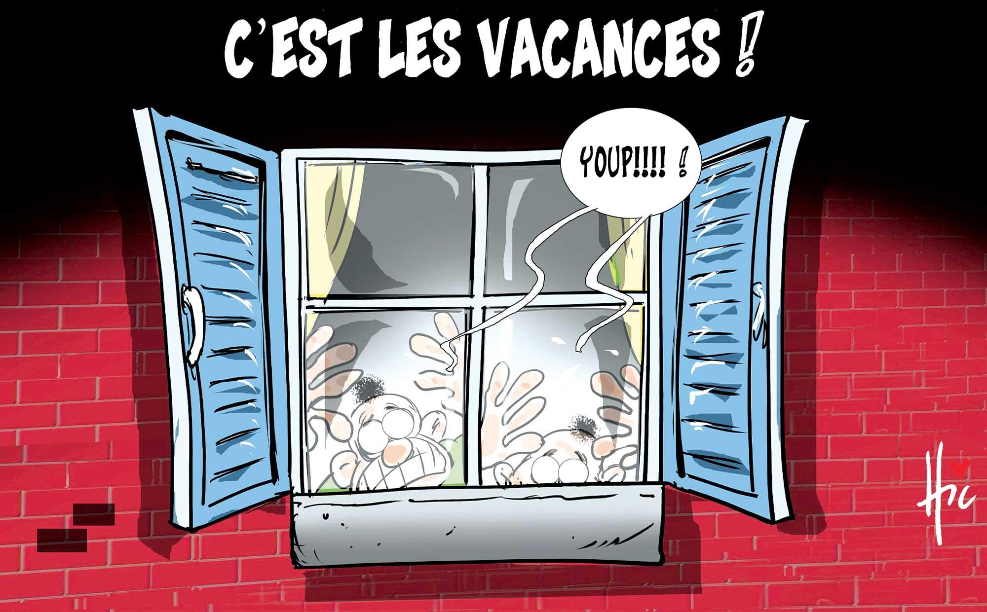 Les vacances en confinement - Le Hic - El Watan - Gagdz.com