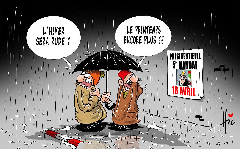 L'hiver sera rude mais le printemps encore plus - 5e mandat de Bouteflika - Gagdz.com