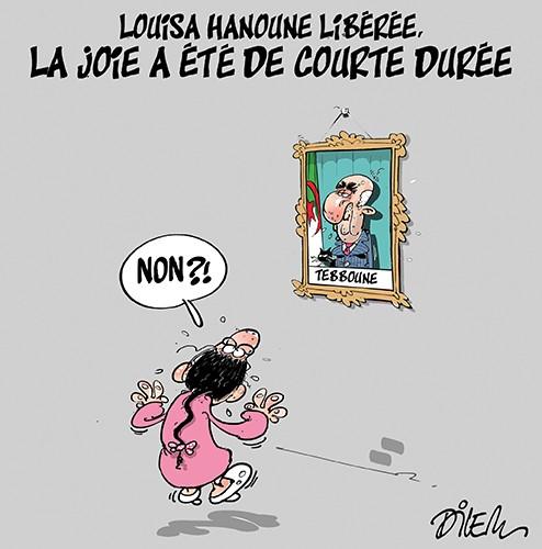Louisa hanoune libérée : La joie a été de courte durée - Dilem - Liberté - Gagdz.com