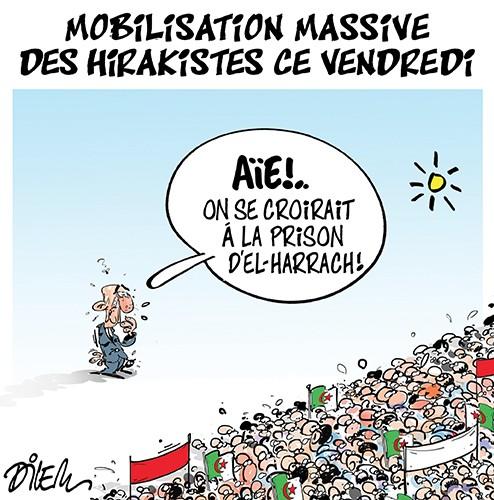 Mobilisation massive des hirakistes ce vendredi - prison - Gagdz.com