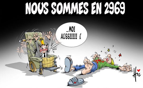 Nous sommes en 2969 - Dessins et Caricatures, Le Hic - El Watan - Gagdz.com
