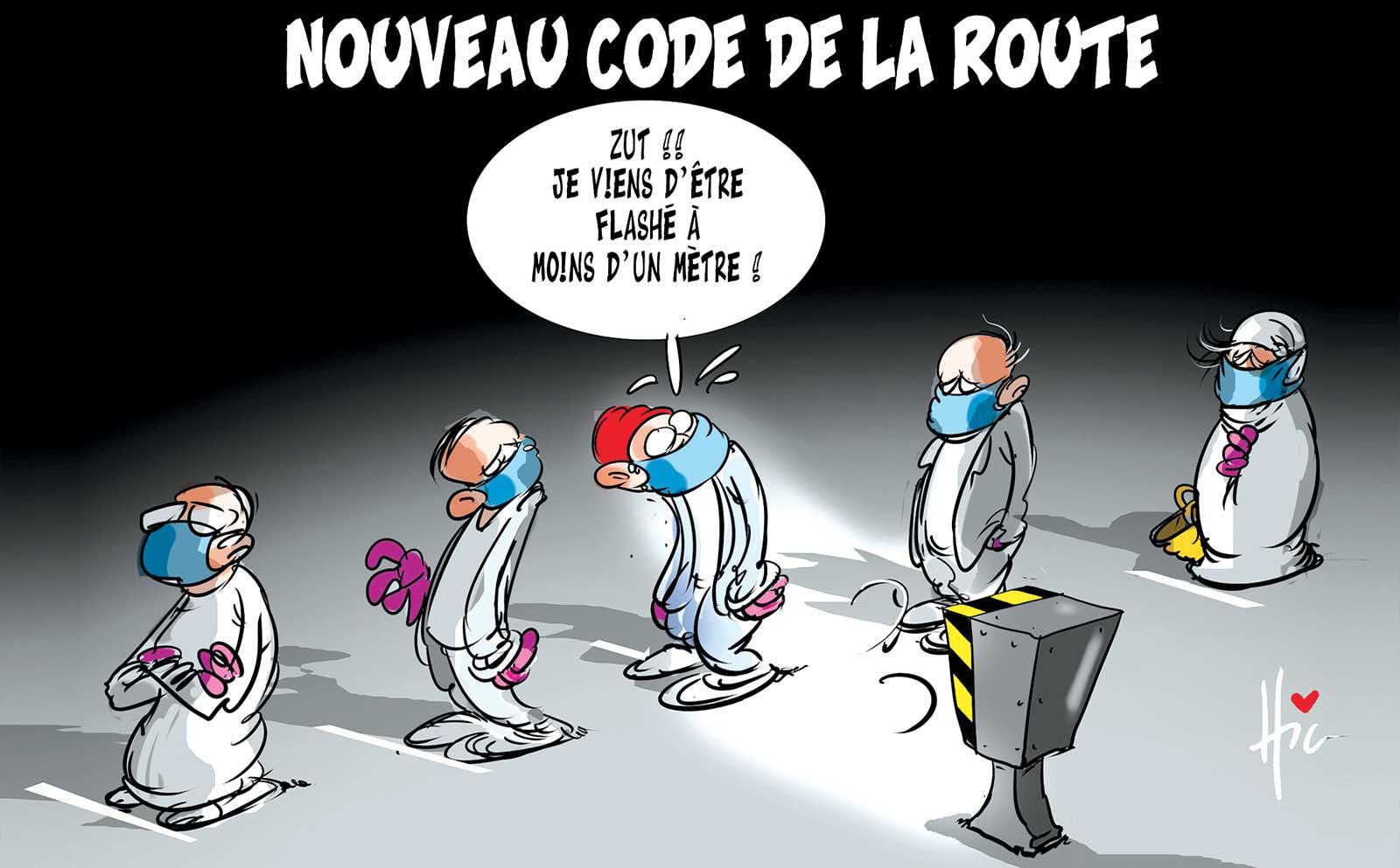 Nouveau code de la route - Dessins et Caricatures, Le Hic - El Watan - Gagdz.com