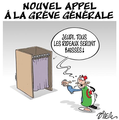 Nouvel appel à la grève générale - Dilem - Liberté - Gagdz.com