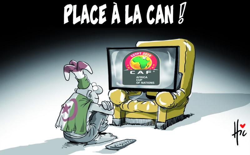 Pace à la coupe d'afrique des nations (CAN 2019) - Dessins et Caricatures, Le Hic - El Watan - Gagdz.com