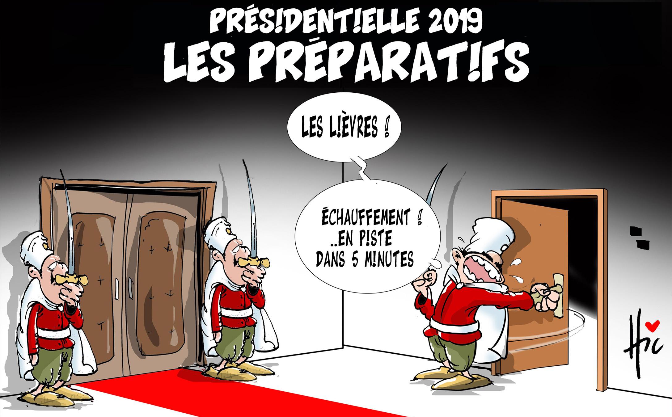 Présidentielle 2018 : Les préparatifs - Dessins et Caricatures, Le Hic - El Watan - Gagdz.com