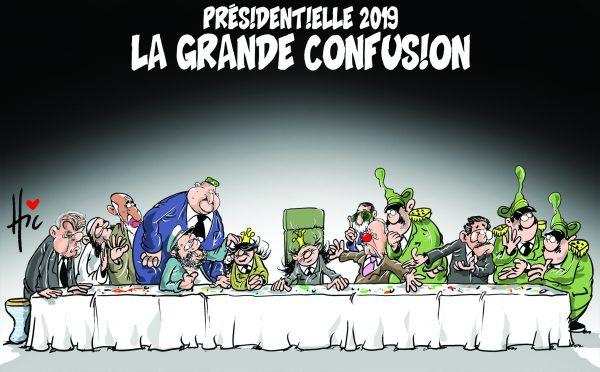 Présidentielle 2019 : La grande confusion - Dessins et Caricatures, Le Hic - El Watan - Gagdz.com