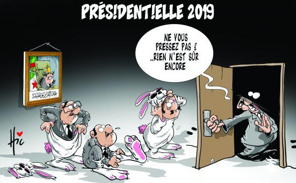 Présidentielle 2019 en Algérie - Dessins et Caricatures, Le Hic - El Watan - Gagdz.com