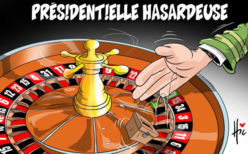 Présidentielle 2019 hasardeuse en Algérie - Dessins et Caricatures, Le Hic - El Watan - Gagdz.com
