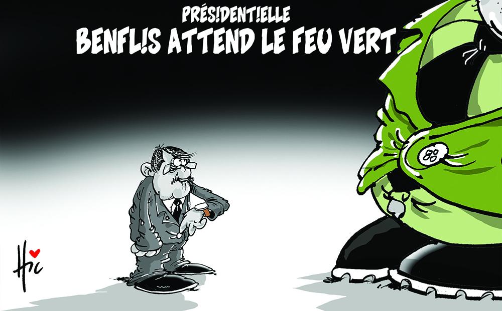 Présidentielle : Benflis attend le feu vert - Benflis - Gagdz.com
