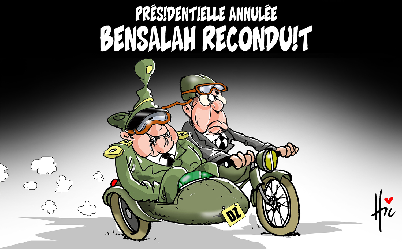 Présidentielle annulée : Bensalah reconduit - Bensalah - Gagdz.com