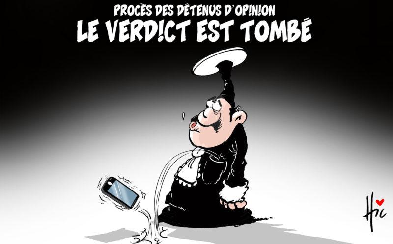 Procès des détenus d'opinion : Le verdict est tombé - Dessins et Caricatures, Le Hic - El Watan - Gagdz.com
