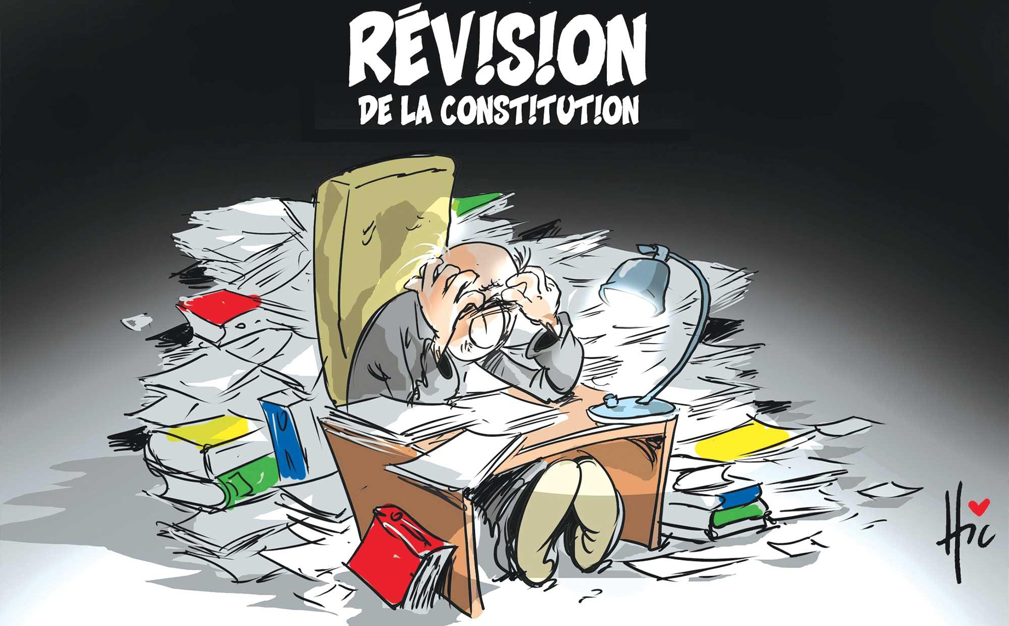 Révision de la constitution algérienne - Le Hic - El Watan - Gagdz.com
