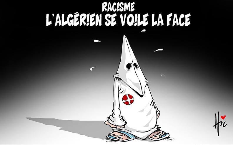 Racisme : L'algérien se voile la face - racisme - Gagdz.com