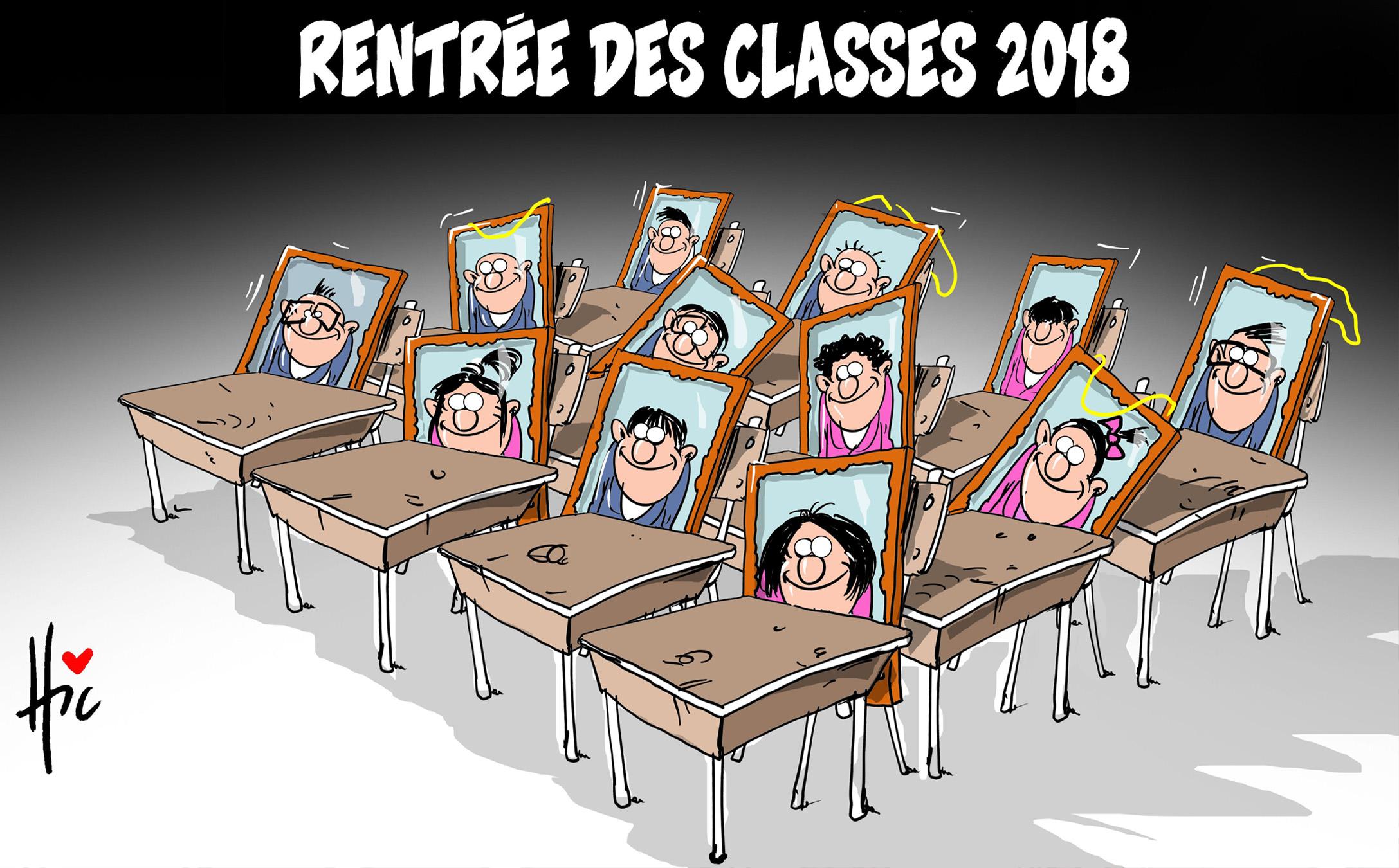 Rentrée des classes 2018 - Rentrée - Gagdz.com
