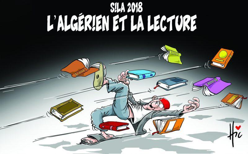 Salon International du Livre d'Alger 2018 : L'algérien et la lecture - Dessins et Caricatures, Le Hic - El Watan - Gagdz.com