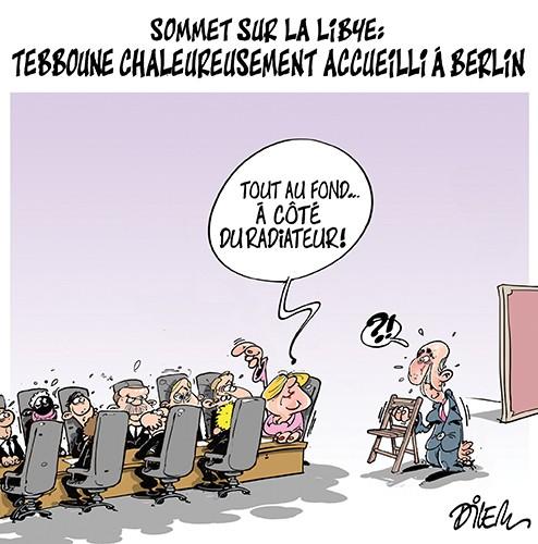 Sommet sur la Libye : Tebboune chaleureusement accueilli à Berlin - merkel - Gagdz.com