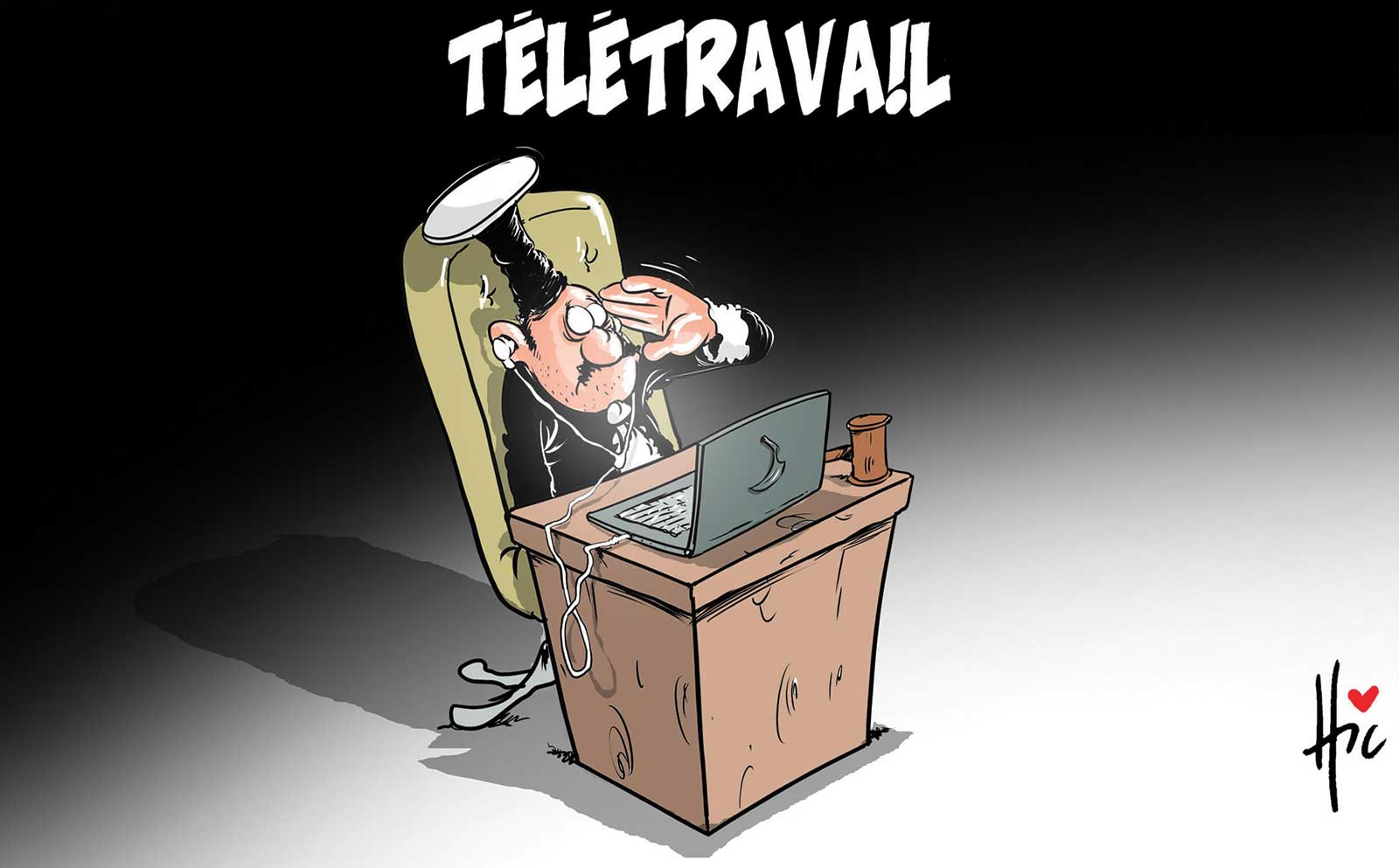 Télétravail des juges en Algérie - corruption - Gagdz.com