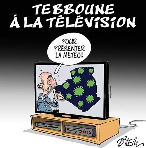 Tebboune à la télévision pour présenter la météo - Météo - Gagdz.com