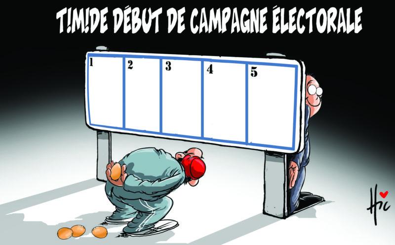 Timide début de campagne électorale en Algérie - Dessins et Caricatures, Le Hic - El Watan - Gagdz.com