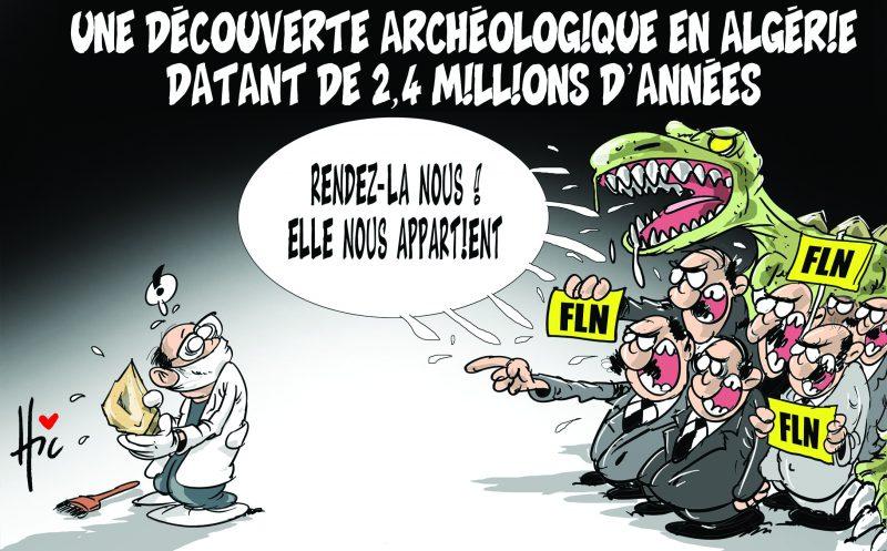 Une découverte archéologique en Algérie datant de 2,4 millions d'années - FLN - Gagdz.com