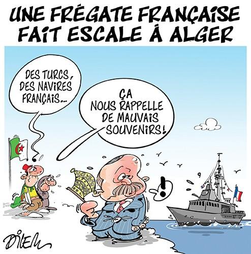 Une frégate française fait escale à Alger - Turquie - Gagdz.com