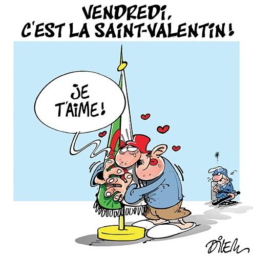 Vendredi, c'est la Saint-Valentin - Saint-valentin - Gagdz.com