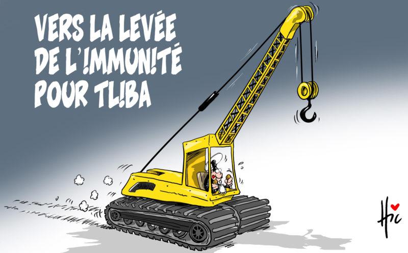 Vers la levée de l'immunité pour Tliba - Dessins et Caricatures, Le Hic - El Watan - Gagdz.com