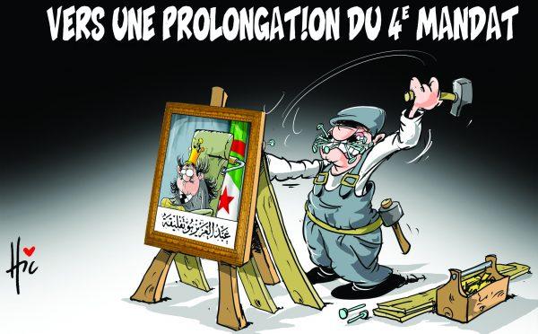 Vers une prolongation du 4e mandat - Dessins et Caricatures, Le Hic - El Watan - Gagdz.com