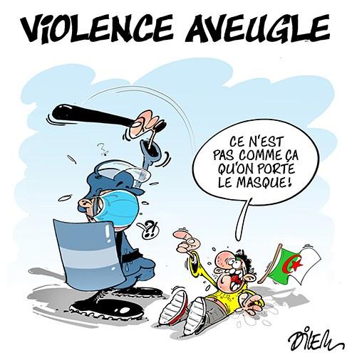 Violance aveugle et port du masque - police - Gagdz.com