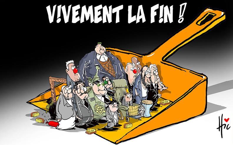 Vivement la fin - Dessins et Caricatures, Le Hic - El Watan - Gagdz.com