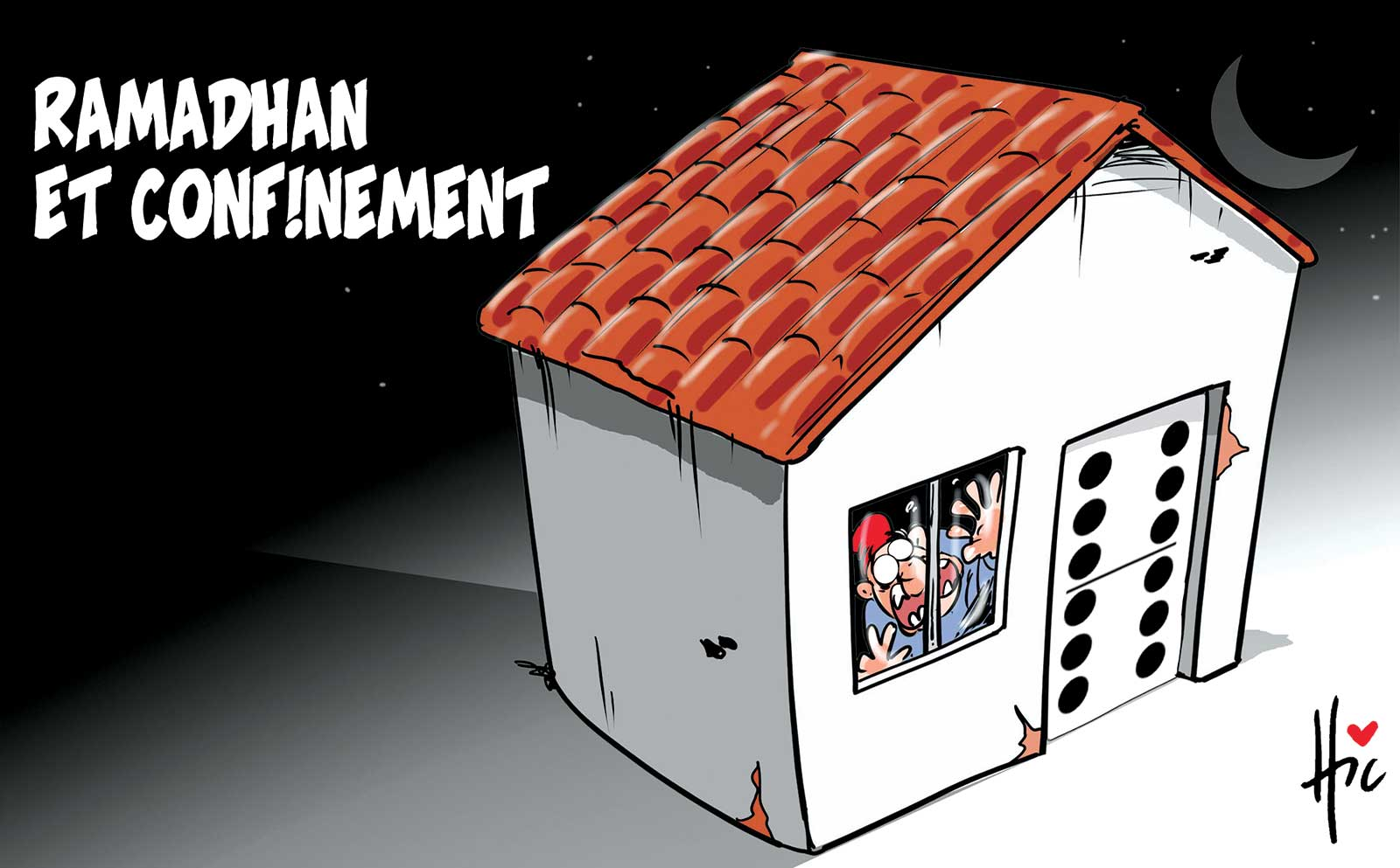 ramadan en confinement - Dessins et Caricatures, Le Hic - El Watan - Gagdz.com