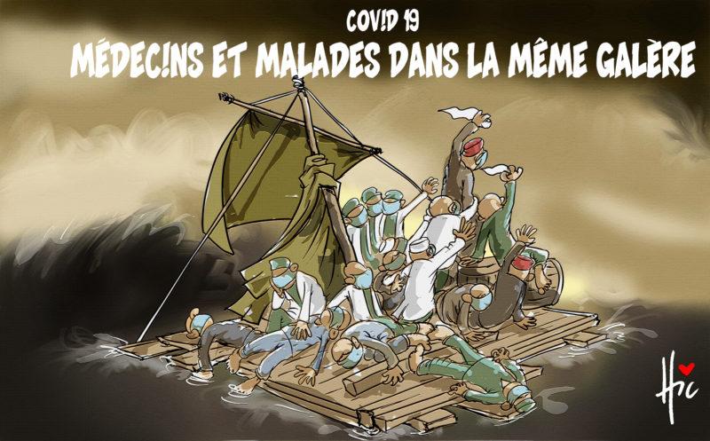Covid 19 : Médecins et malades dans la même galère - coronavirus - Gagdz.com