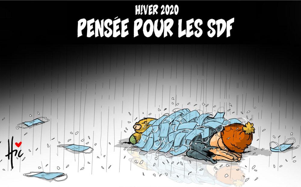 Hiver 2020 : Pensée pour les sdf - hiver - Gagdz.com