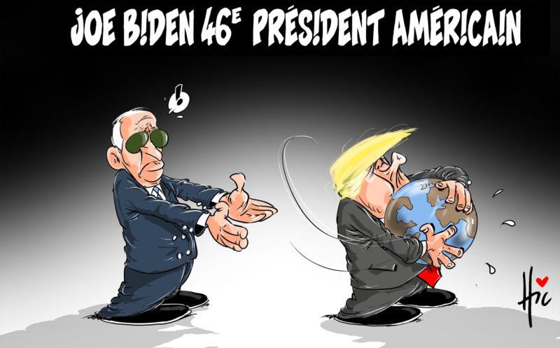 Joe Biden 46e président américain - Le Hic - El Watan - Gagdz.com