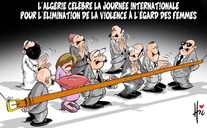 L'Algérie célèbre la journée internationale pour l'élimination de la violence à l'égard des femmes - Le Hic - El Watan - Gagdz.com