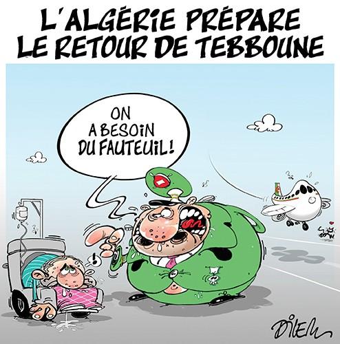 L'Algérie prépare le retour de Tebboune - Tebboune - Gagdz.com