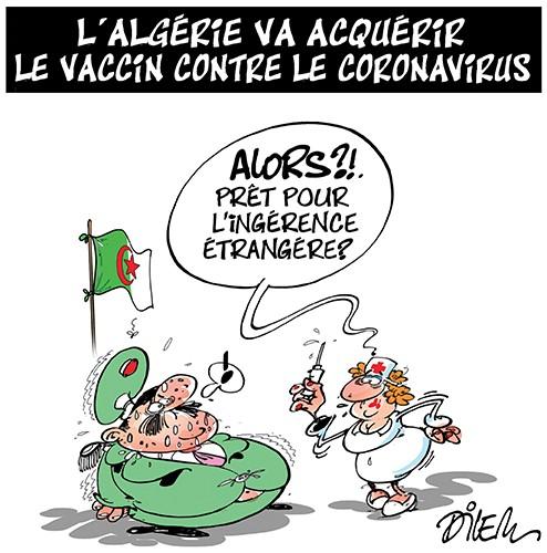 L'Algérie va acquérir le vaccin contre le coronavirus - coronavirus - Gagdz.com