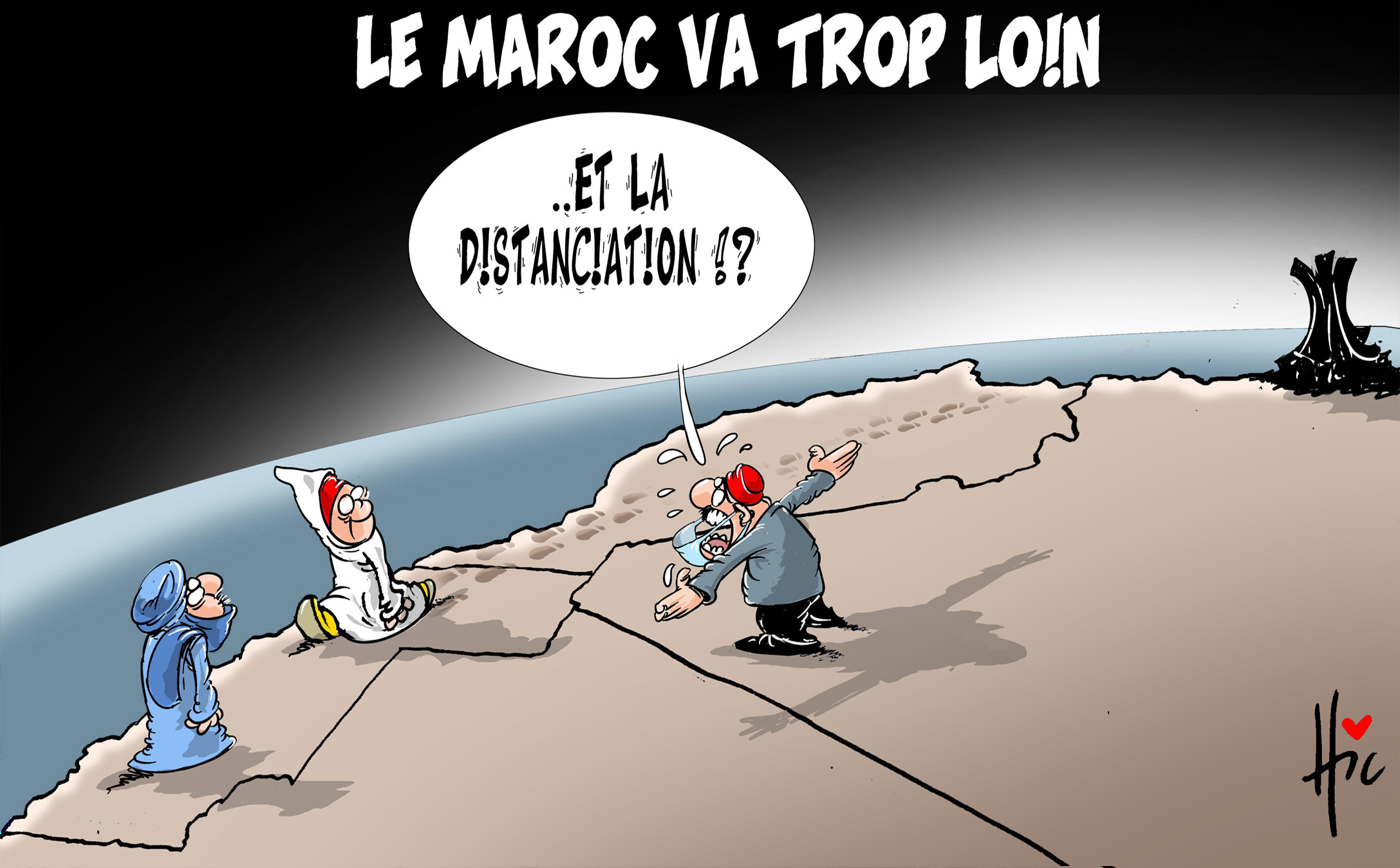 Le Maroc va trop loin - Le Hic - El Watan - Gagdz.com
