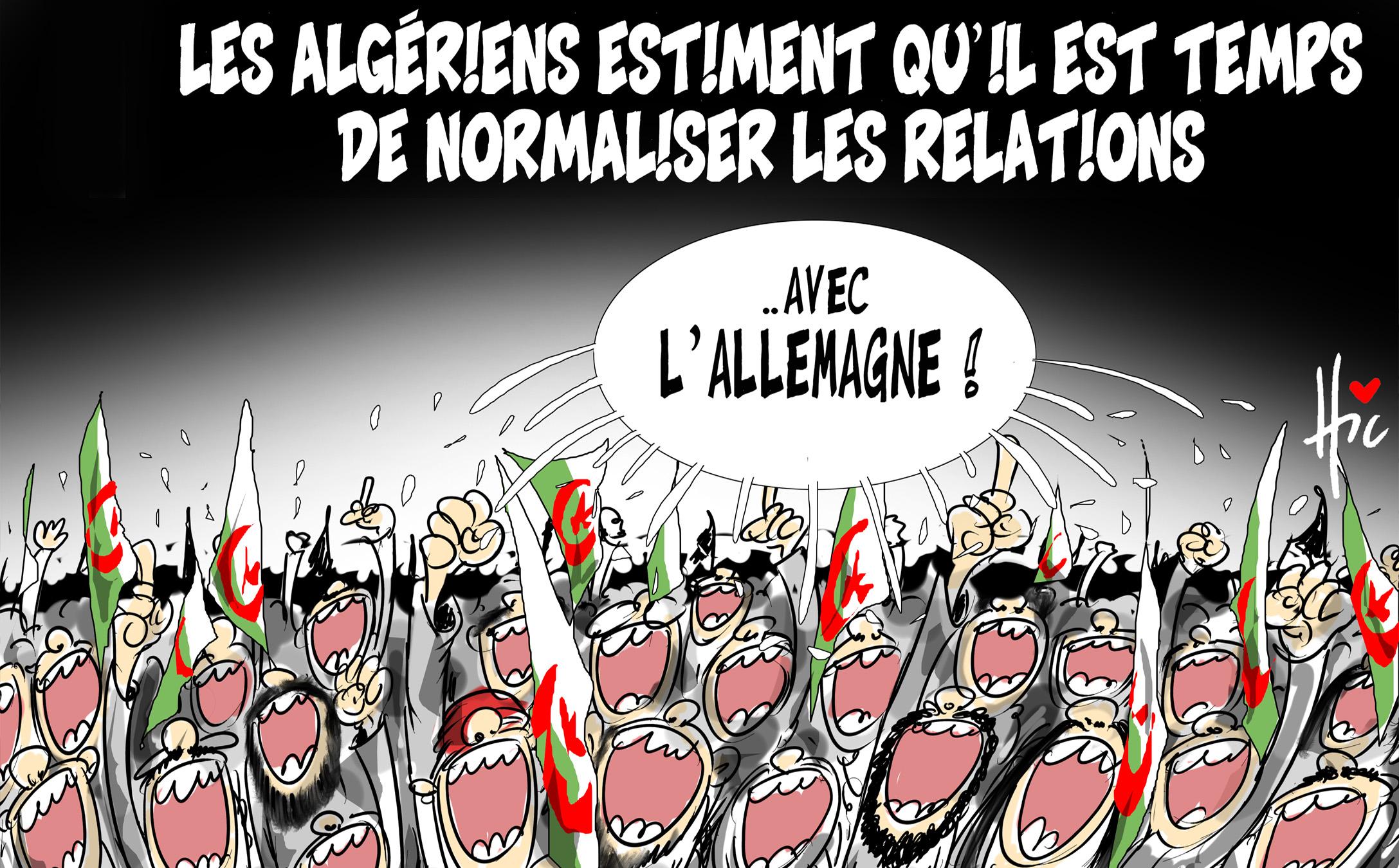 Les algériens estiment qu'il est temps de normaliser les relations avec l'Allemagne - Le Hic - El Watan - Gagdz.com