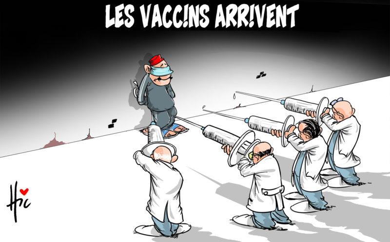 Les vaccins arrivent - coronavirus - Gagdz.com