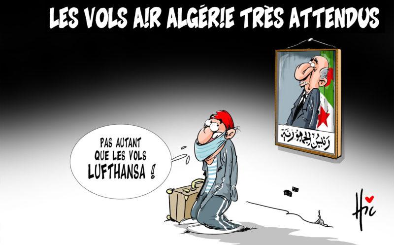 Les vols Air Algérie très attendus - Tebboune - Gagdz.com