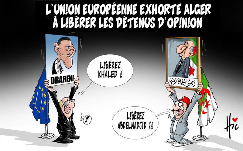 L'union européenne exhorte Alger à libérer les détenus d'opinion - Tebboune - Gagdz.com