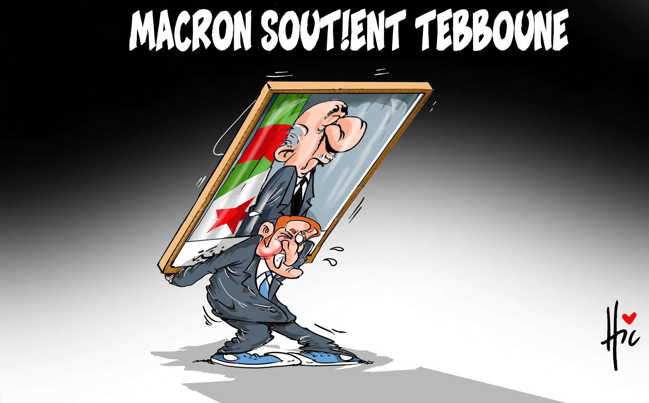 Macron soutient Tebboune - Le Hic - El Watan - Gagdz.com