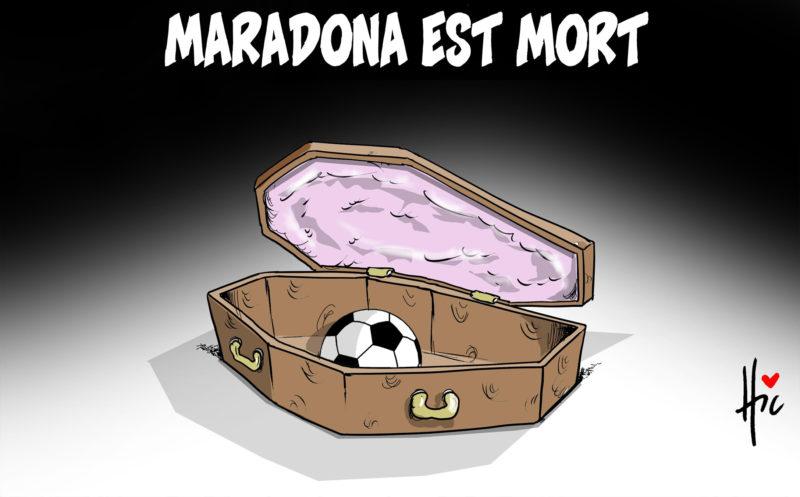 Maradona est mort - Le Hic - El Watan - Gagdz.com
